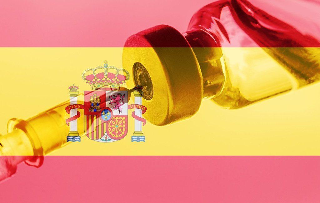 70 procent inwoners van Spanje gedeeltelijk en 60 procent volledig gevaccineerd