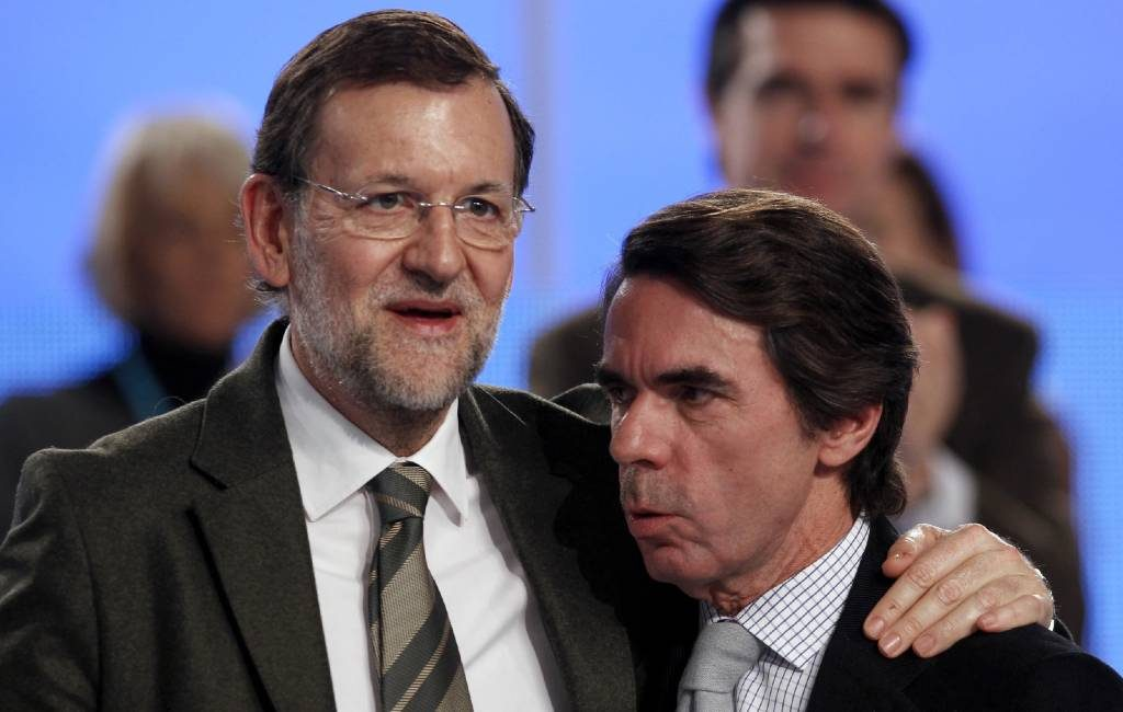 Voormalige premiers van Spanje ontkennen zwart geld affaire binnen de Partido Popular