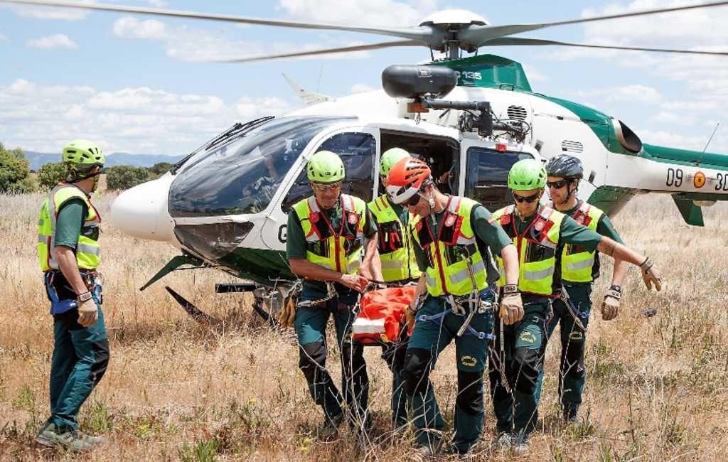 Het aantal reddingen van de Guardia Civil in de bergen stijgt flink