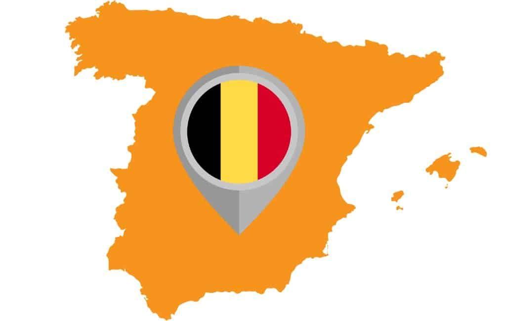 Reisadvies België: Meer gebieden in Spanje op oranje en rood