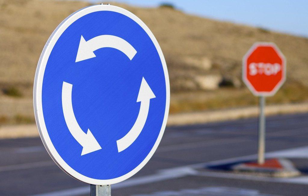 Steeds meer ongevallen bij rotondes in Spanje