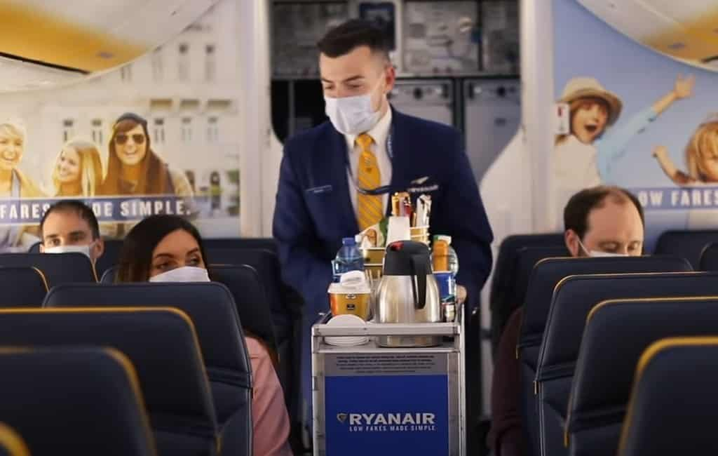 Minder Ryanair vluchten naar Spanje vanwege dalende vraag