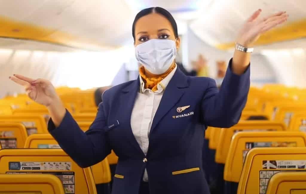 70 binnenlandse routes van Ryanair in Spanje wat 40% meer is dan vorig jaar