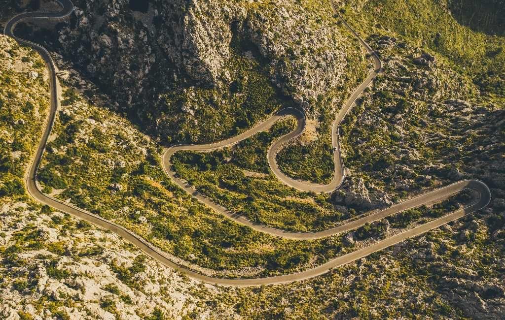 10x spectaculaire wegen in Spanje