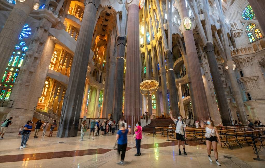 De Sagrada Familia in Barcelona gaat weer open en is vanaf 29 mei te bezoeken