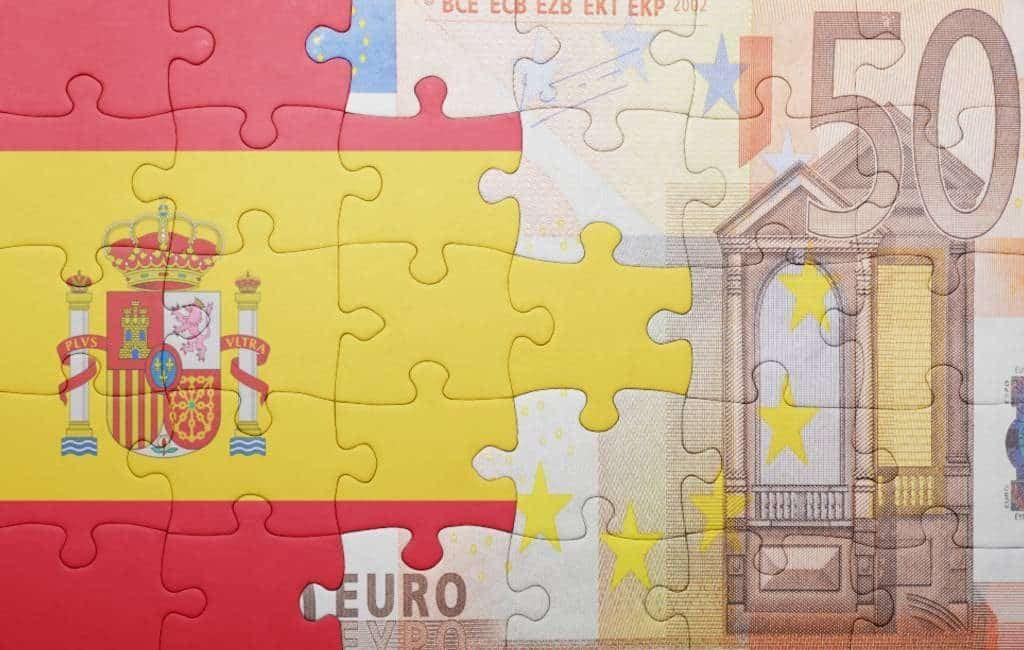 Meest voorkomende bruto jaarsalaris in Spanje is 18.468 euro