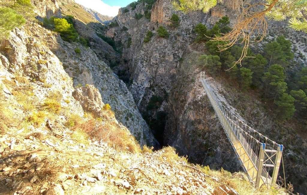 Vrouw overleden bij 'El Saltillo' of de Caminito del Rey van de Axarquía