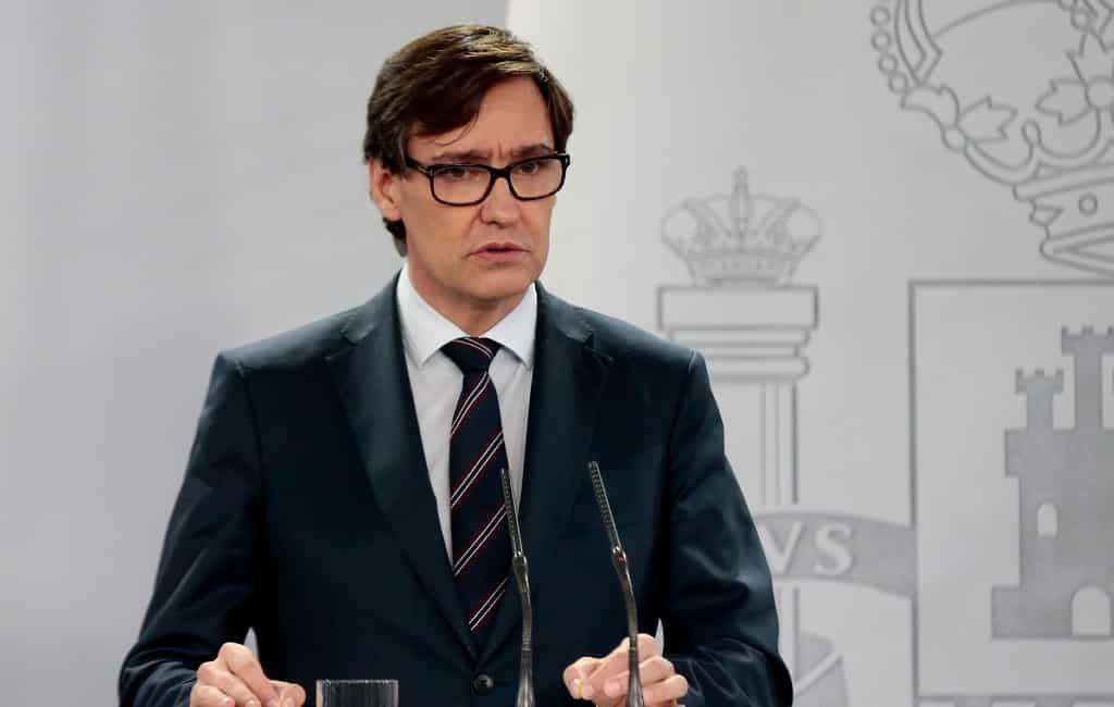Minister van Volksgezondheid sluit thuisisolatie Spanje uit