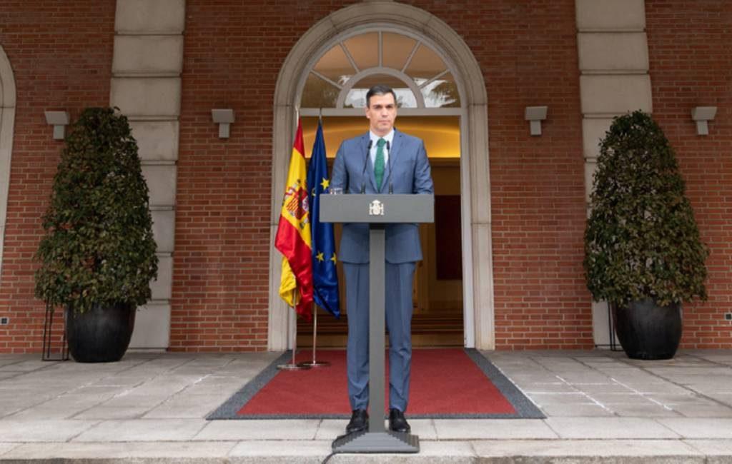 Spaanse premier: hopelijk geen verlenging noodtoestand en 33 miljoen gevaccineerden eind augustus