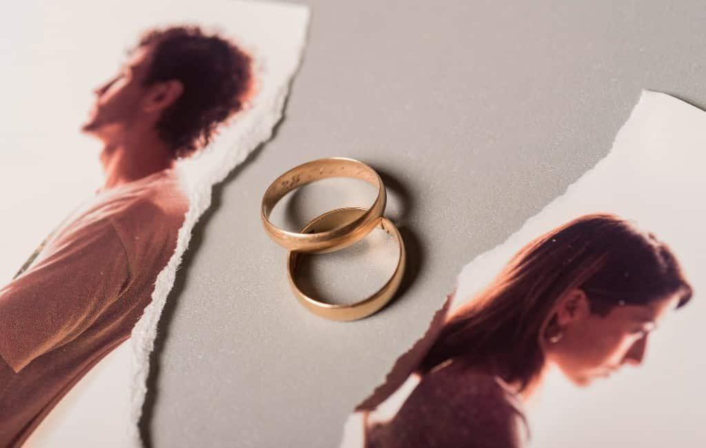 Toename van huwelijksontbindingen in het derde kwartaal in Spanje