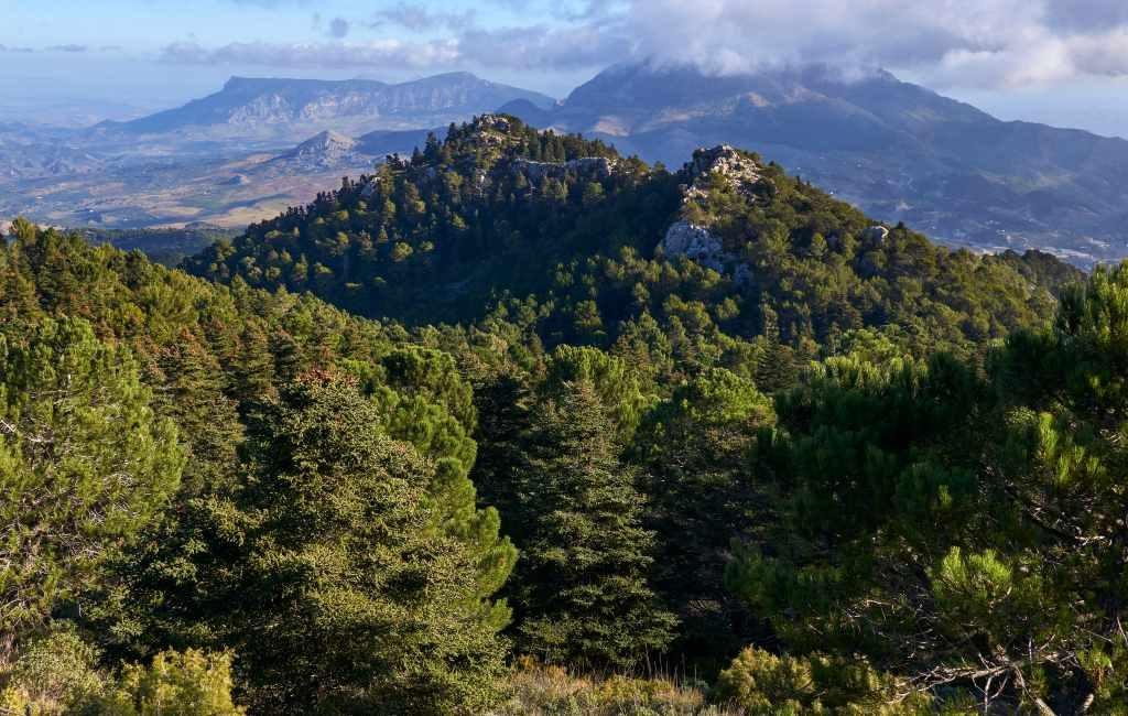 Sierra de las Nieves in de provincie Málaga is zestiende Nationale natuurpark
