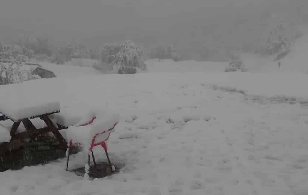 Storm Alex zorgt voor 25 centimeter sneeuw in de Pyreneeën