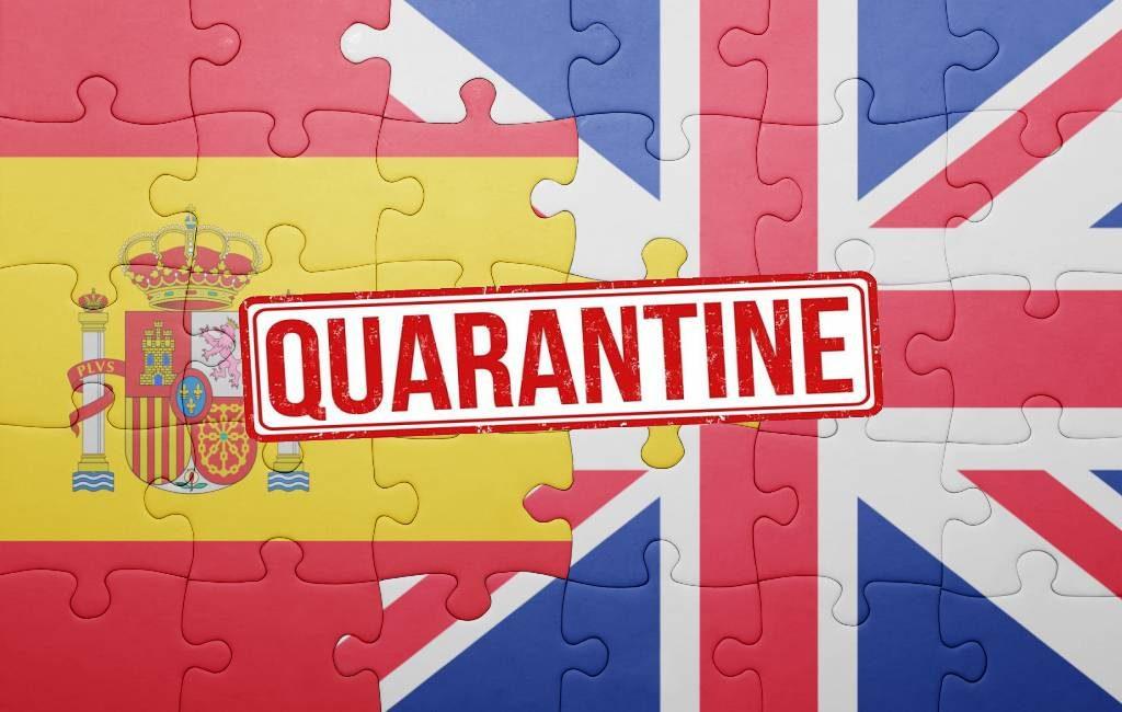 Geen verplichte quarantaine meer voor Engelsen die uit Spanje reizen