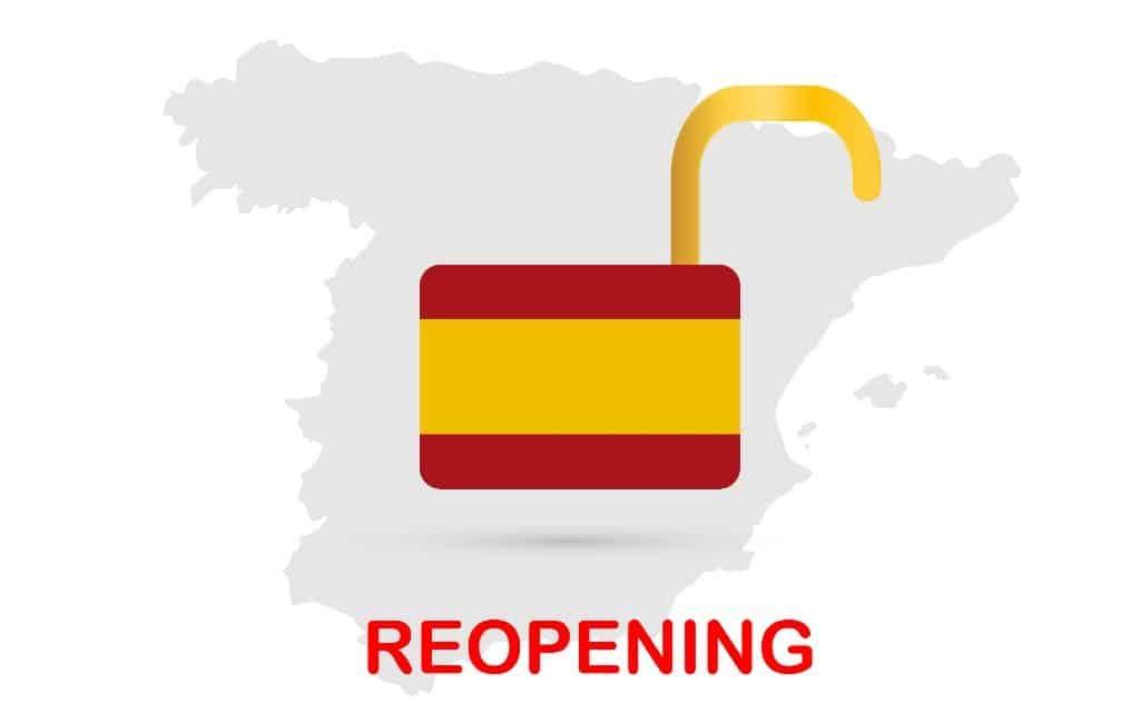 ¡OLÉ! Spanje is weer open