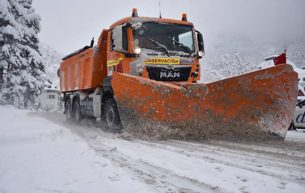 Het is en wordt Siberisch koud in Spanje de komende dagen