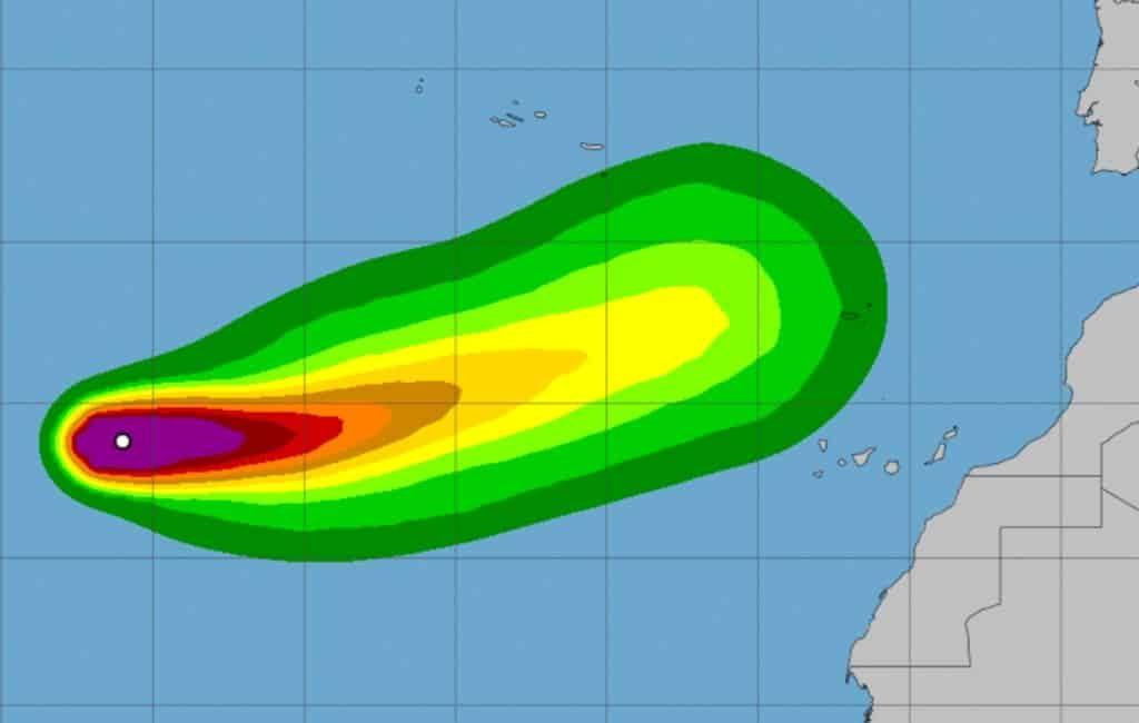 Canarische Eilanden bereiden zich voor op komst tropische cycloon