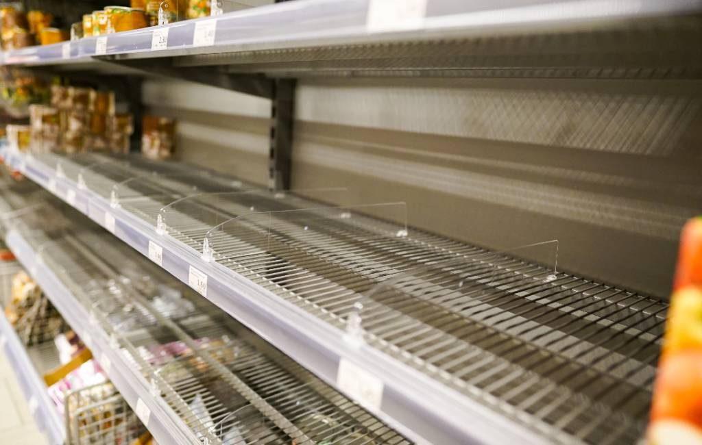 Supermarkten Spanje roepen op niet te hamsteren vanwege sneeuwval