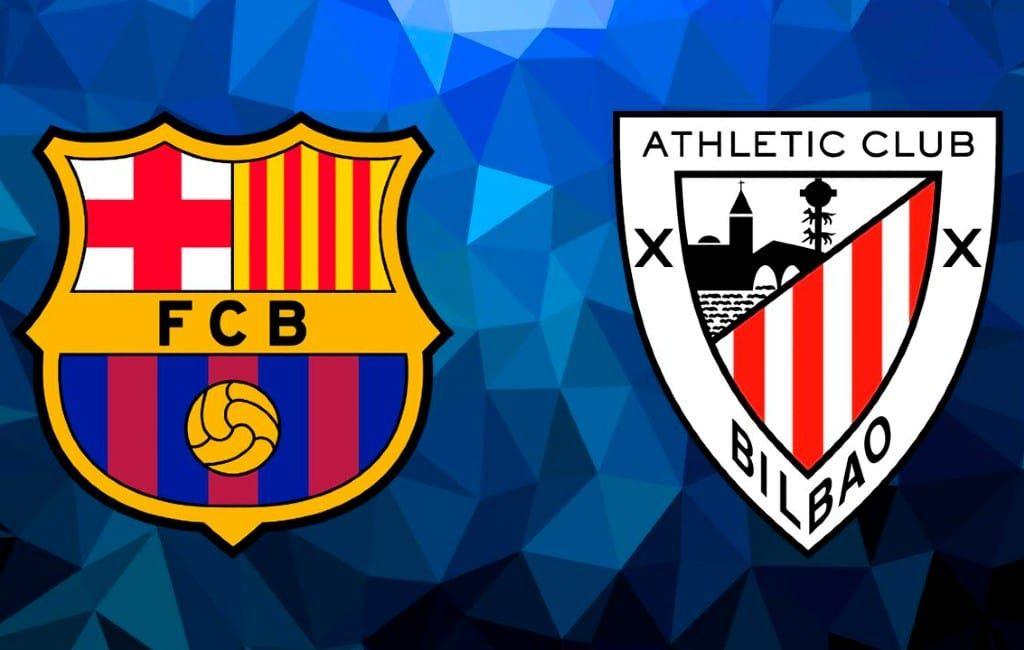 Athletic Club wint de Supercup Spanje met 3-2 van FC Barcelona
