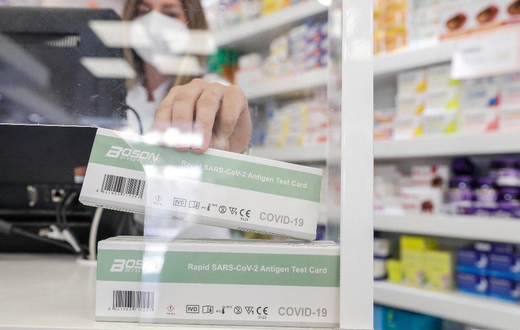 De meeste van de 3,2 miljoen corona-zelftesten werden verkocht in Catalonië