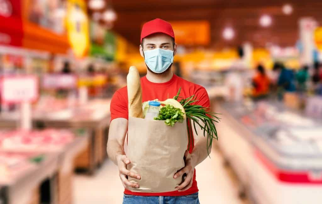 Supermarktketens verwachten een nieuwe lawine van online bestellingen