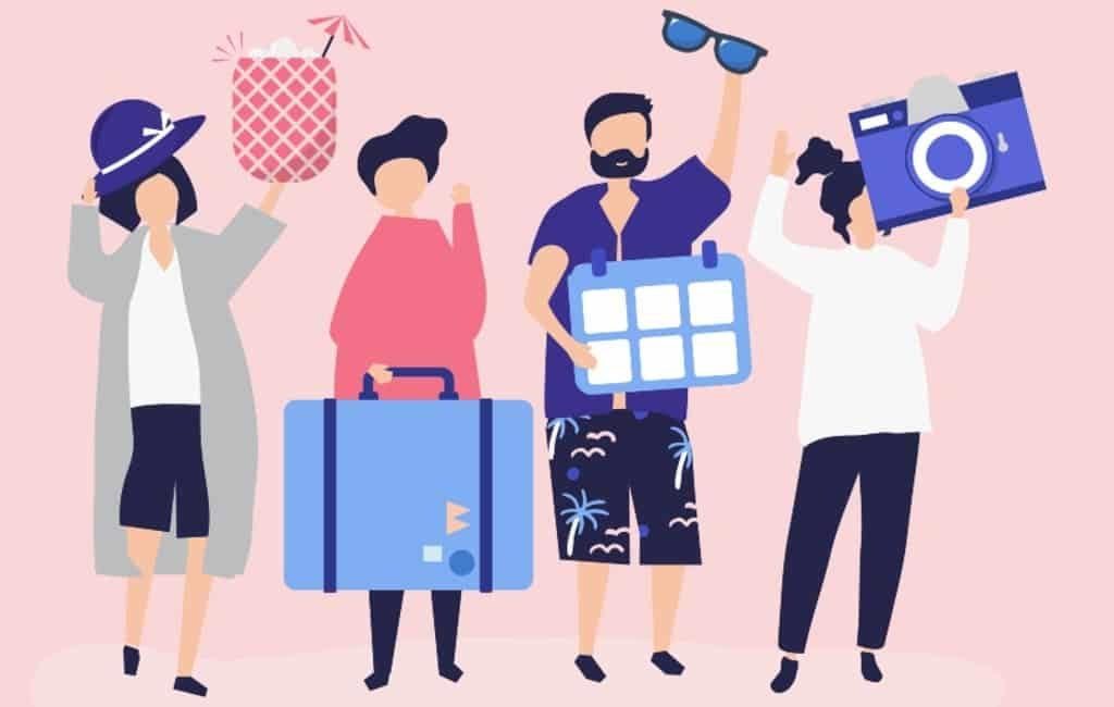 Aantal buitenlandse toeristen in juli met 75% gedaald