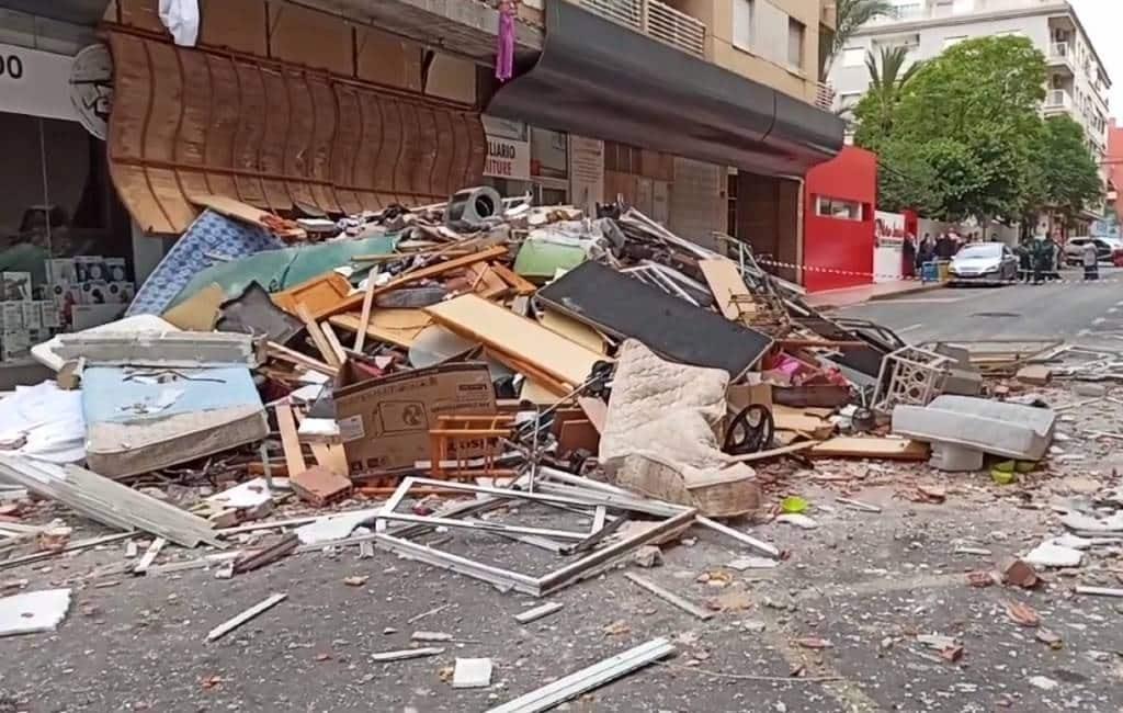 Brandweer zoekt eigenaar woning na butaangas explosie in Torrevieja