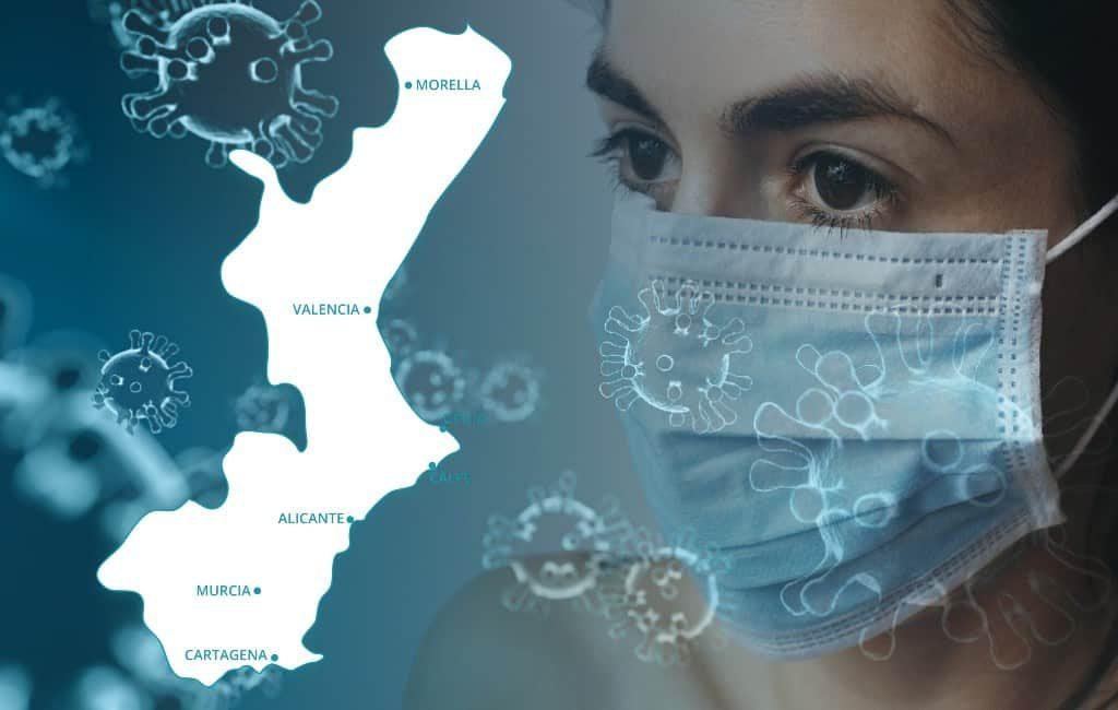 Uitleg Valencia regio en de de-escalatiefase 1 per gezondheidsdistrict