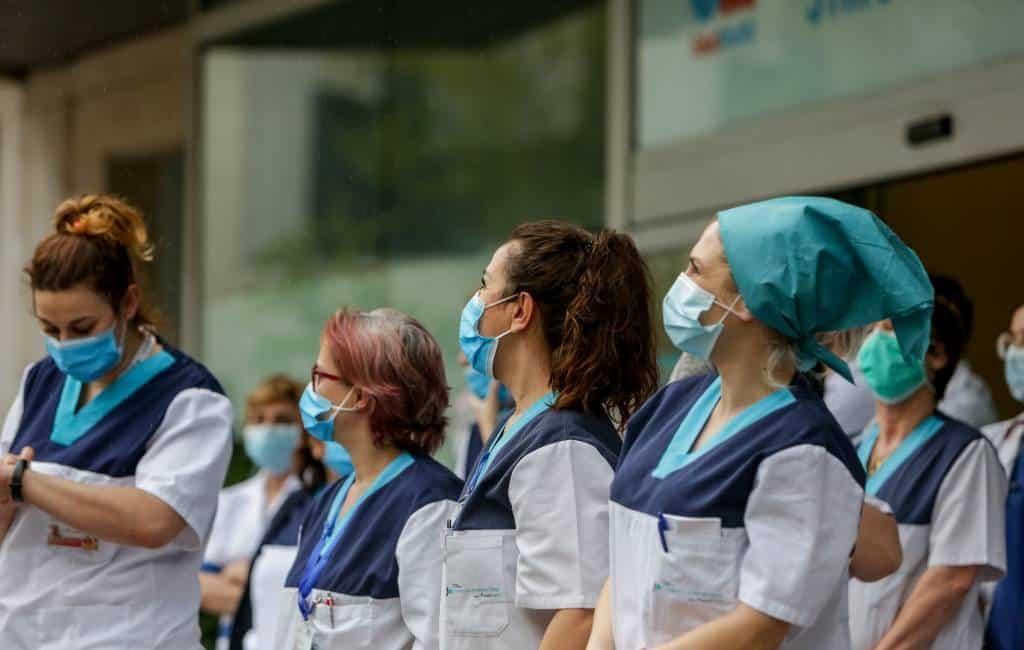 31.000 medisch personeel in Spanje besmet met coronavirus