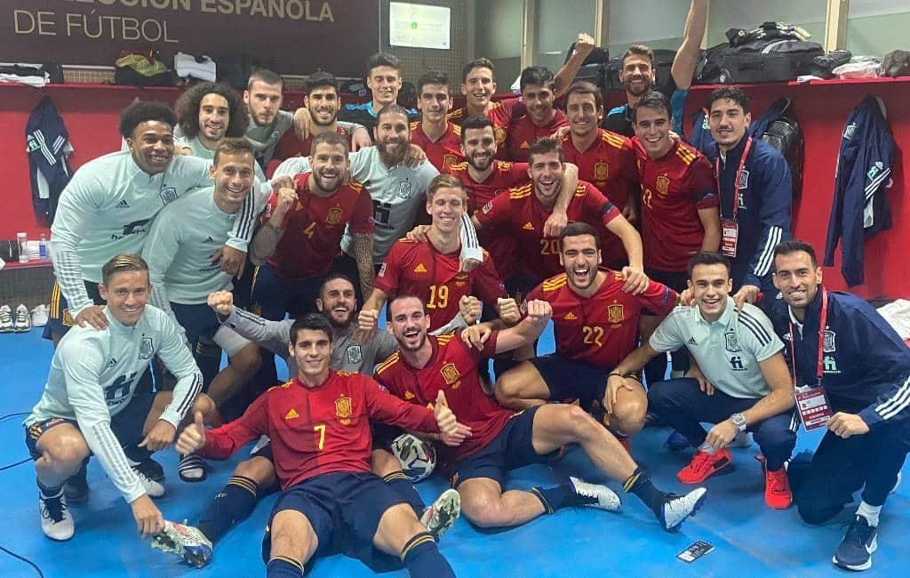 Spanje wint met 6-0 van Duitsland en plaatst zich voor de Final Four