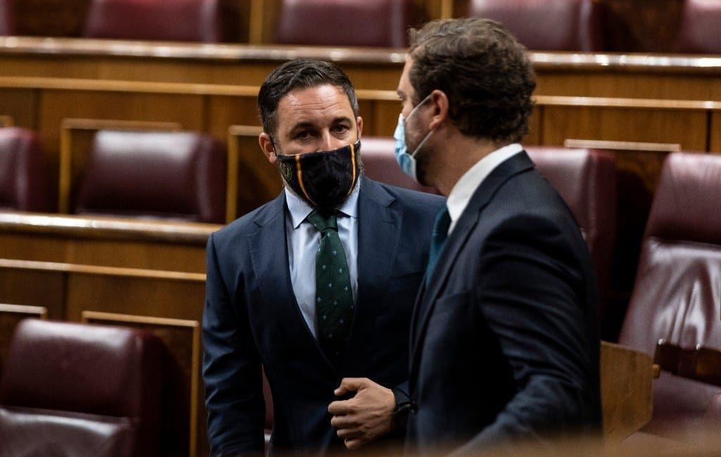 VOX-partij wil een motie van wantrouwen tegen de regering-Sánchez in Spanje