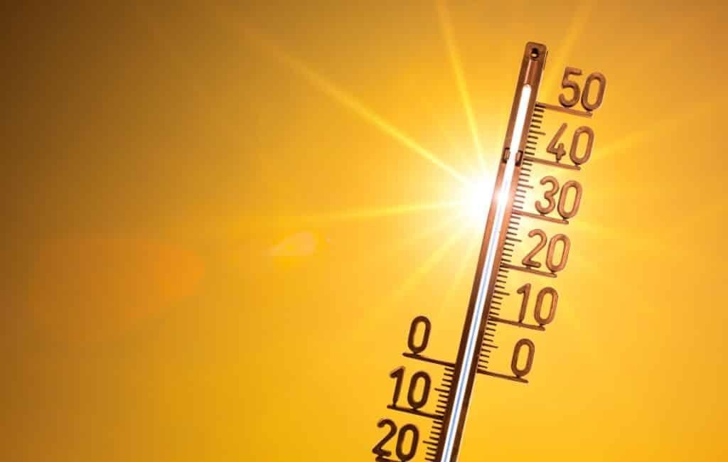 Hoogste temperatuur van Spanje op zaterdag 24 juli: 42,7 graden in Málaga