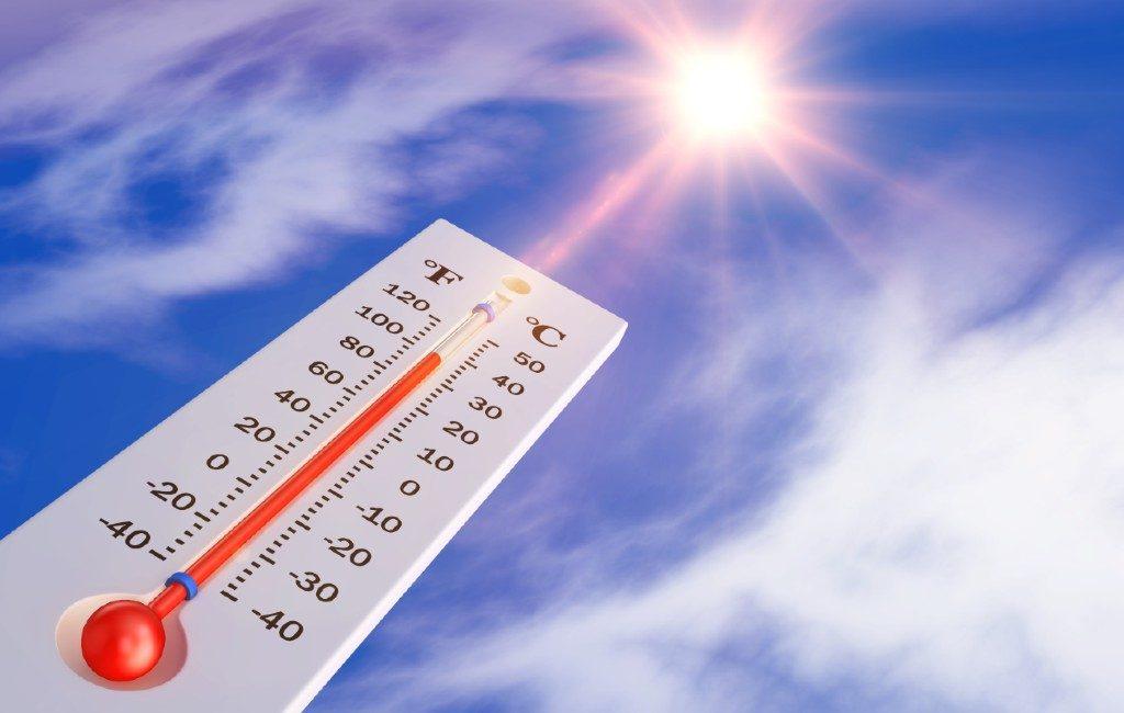 Zomers weer met bijna 30 graden op het Spaanse vasteland maar 30+ op Canarische Eilanden