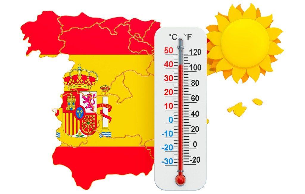 Zogenaamde 'hittekoepel' zorgt voor temperaturen tegen de 50 graden in Spanje