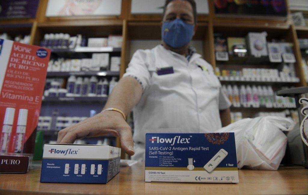 Corona-zelftesten vanaf 21 juli bij de apotheken in Spanje te koop